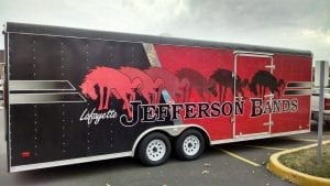 glgraphix lafayette indiana custom trailer wrap for jefferson high school