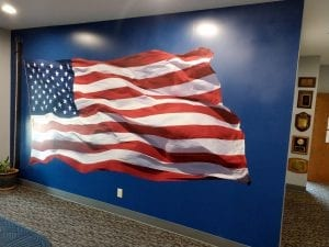 show your support with a full wall graphic by glgraphix lafayette indiana