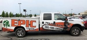 for truck wraps as tough as your business, call glgraphixs lafayette indiana