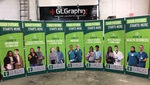 glgraphix lafayette indiana can help promote your schools educational programs with custom banners